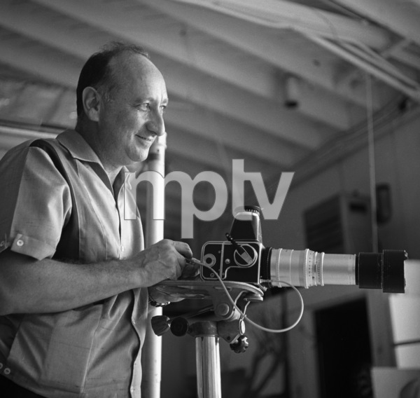 Photographer Sid Avery at work shooting Cami Sebring circa 1965 © 1978 Sid Avery - Image 12819_0007