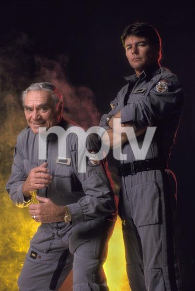 """Airwolf""Ernest Borgnine, Jan-Michael Vincent 1984 © 1984 Mario Casilli - Image 1283_0009"