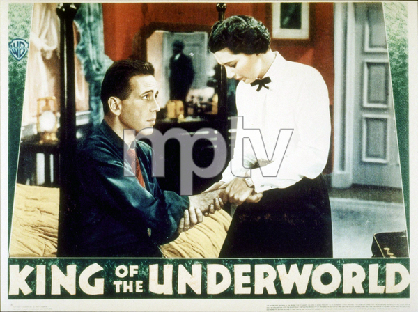 """King of the Underworld""Humphrey Bogart and Kay Francis1938 Warner Bros.MPTV - Image 12941_0003"