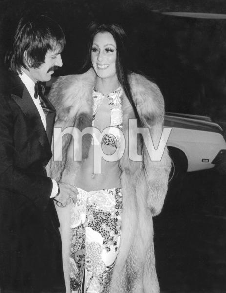 """Golden Globe Awards"" 1973Sonny and Cher © 1978 Kim Maydole Lynch - Image 13007_0003"