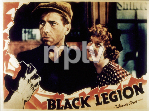 """Black Legion""Humphrey Bogart1937 Warner Bros.MPTV - Image 13034_0002"