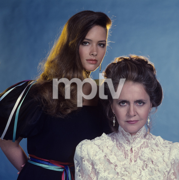 """Behind the Screen""Joanne Linville, Janine Turner1981Photo by Gabi Rona - Image 13098_0002"