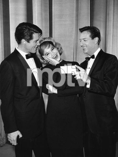 """""""Pantomime Quiz""""Angie Dickinson, Mike Stokeycirca 1962Photo by Gabi Rona - Image 13106_0010"""