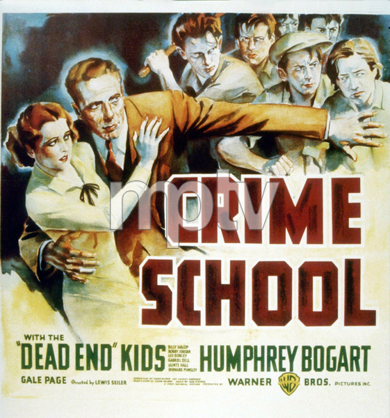 """Crime School""Humphrey Bogart1938 Warner Bros.MPTV - Image 13188_0001"