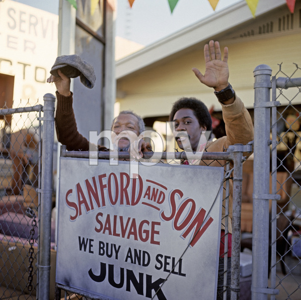 """""""Sanford and Son"""" Redd Foxx, Demond Wilson circa 1972 ** H.L. - Image 13197_0018"""