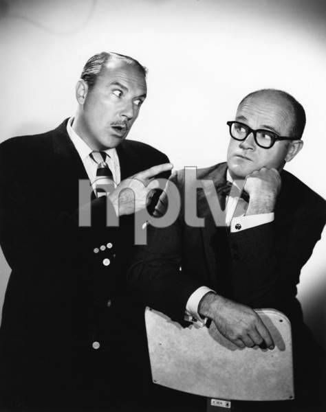 """The Brothers""Gale Gordon, Bob Sweeney1956Photo by Gabi Rona - Image 13258_0002"