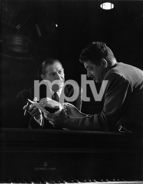 """The Milton Berle Show""Milton Berle, Hal Kantercirca 1959 © 1978 Gerald Smith - Image 13275_0001"