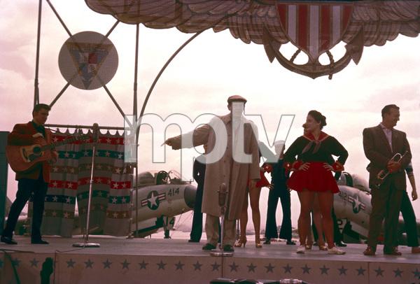 """The Milton Berle Show""Elvis Presley, Milton Berle, Harry James1956Photo by Gerald Smith - Image 13275_0003"