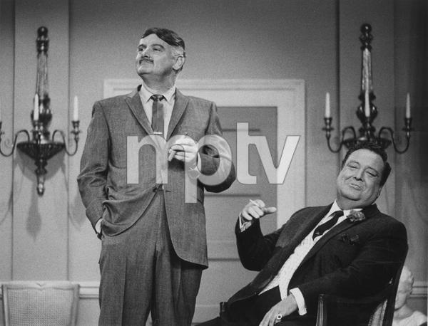 """""""The Jackie Gleason Show""""Art Carney and Jackie Gleason1966 CBS - Image 13295_0001"""