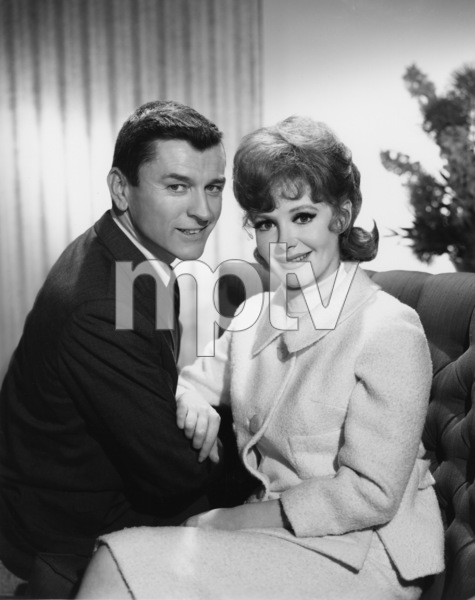 """The Cara Williams Show""Frank Aletter, Cara Williamscirca 1964Photo by Gabi Rona - Image 13297_0003"