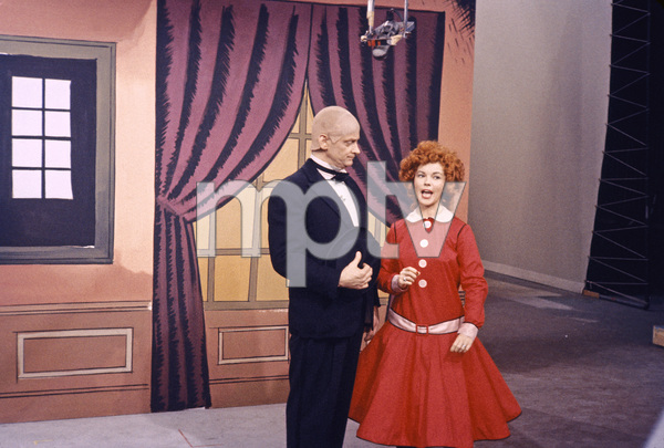 """""""The Shirley Temple Show"""" Art Carney, Shirley Templecirca 1958Photo by Gerald Smith - Image 13321_0005"""
