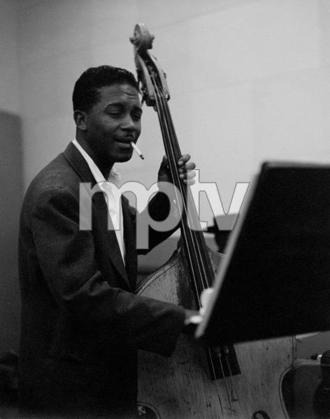 Bob Johnson at a recording session, circa 1950. © 1978 Bob Willoughby / MPTV - Image 13384_4