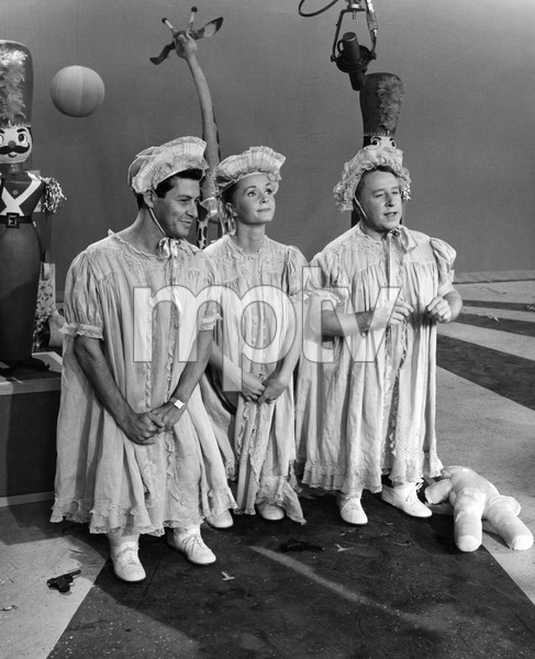 """The Eddie Fisher Show""Eddie Fisher, Debbie Reynolds, George Gobelcirca 1958Photo by Joe Shere - Image 13413_0005"