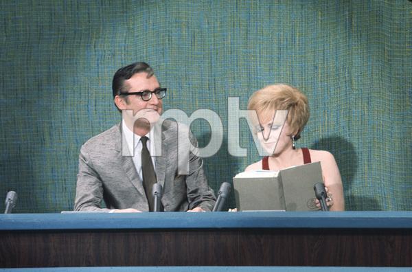 """The Steve Allen Show"" Steve Allen and Edie Adams circa 1958 Photo by Gerald Smith - Image 13414_0003"