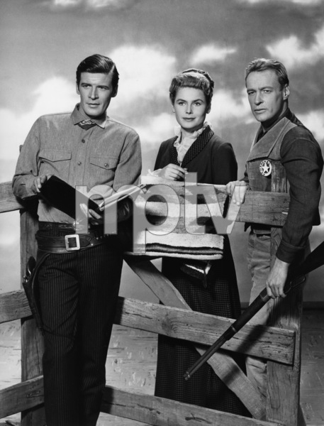 """Black Saddle""Peter Brock, Anna-Lisa and Russell Johnsoncirca 1959 - Image 13431_0007"