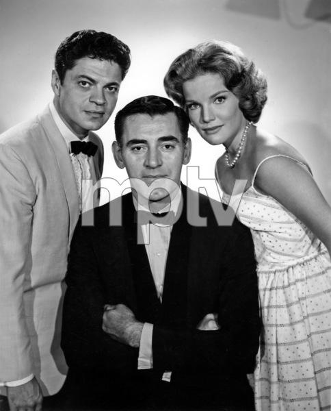 """Mr. Lucky""Ross Martin, John Vivyan, Pippa Scott1959Photo by Gabi Rona - Image 13584_0007"
