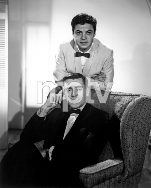 """Mr. Lucky""John Vivyan, Ross Martin1959Photo by Gabi Rona - Image 13584_0008"