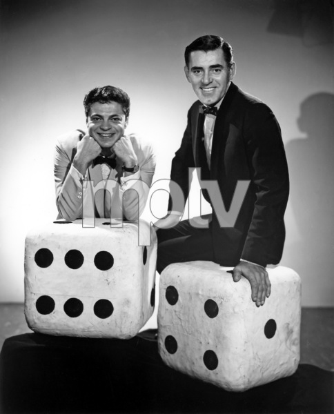 """Mr. Lucky""Ross Martin, John Vivyan1959Photo by Gabi Rona - Image 13584_0010"
