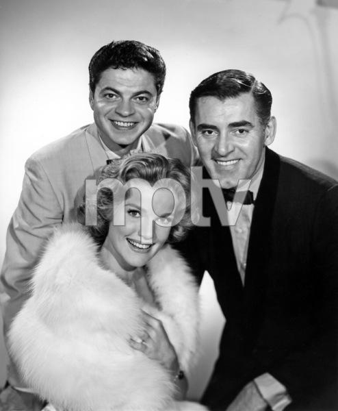 """Mr. Lucky""Ross Martin, John Vivyan, Pippa Scott1959Photo by Gabi Rona - Image 13584_0013"