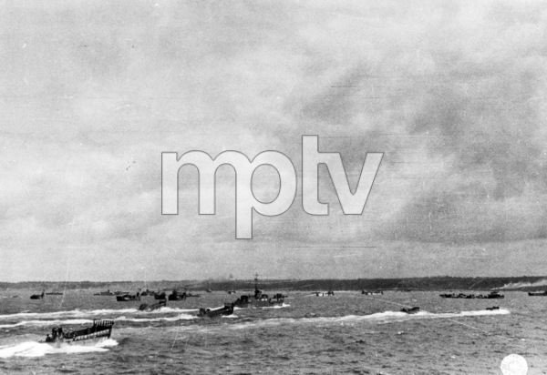 6 June 1944D-Day Invasion of Normandy, FranceOmaha Beach, Easy Red Sector1st Army, 1st Division© 1978 Herman V. Wall - Image 13651_0004