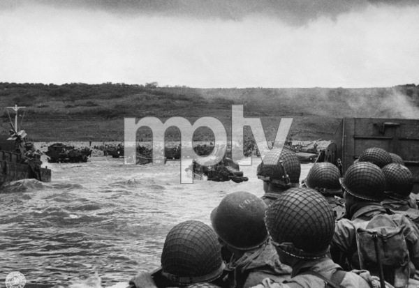 D-Day Invasion of Normandy, FranceOmaha Beach, Easy Red Sector1st Army, 1st DivisionJune 6, 1944 © 1978 Herman V. Wall - Image 13651_0008