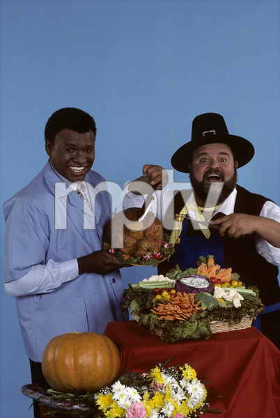 """""""The Dom DeLuise Show""""George Wallace, Dom DeLuise1987© 1987 Gene Trindl - Image 13660_0012"""