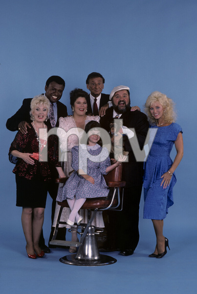 """The Dom DeLuise Show""George Wallace, Charlie Callas, Dom DeLuise, Angela Aames, Lauren Woodland1987© 1987 Gene Trindl - Image 13660_0013"