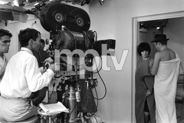 """Contempt""Brigitte Bardot, Michel Piccoli, director Jean-Luc Godard1963 Embassy** I.V. - Image 13683_0011"