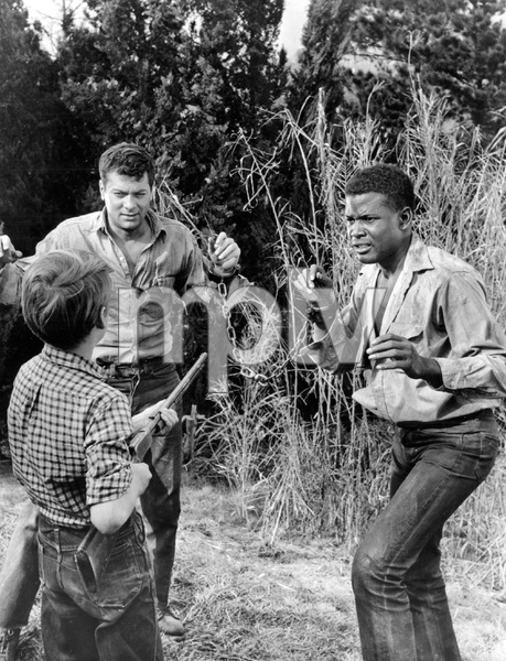 """""""The Defiant Ones""""Tony Curtis & Sidney Poitier1958 MGM**I.V. - Image 1369_0008"""