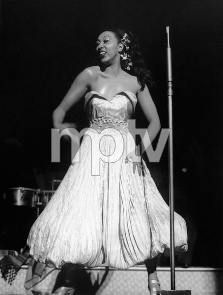 Josephine Baker Performing.C. 1960 - Image 13694_0009
