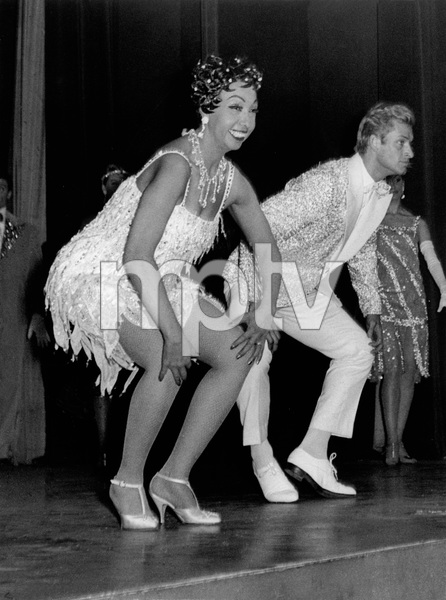 Josephine Baker Performing with Georges Reich in Paris.1959 - Image 13694_0015