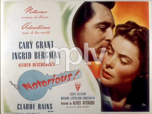 """Notorious""Lobby Card1946  RKO - Image 1398_0003"