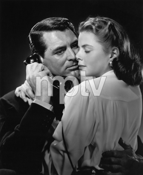 """Notorious""Cary Grant, Ingrid Bergman1946 RKO Radio Pictures** I.V. - Image 1398_0007"