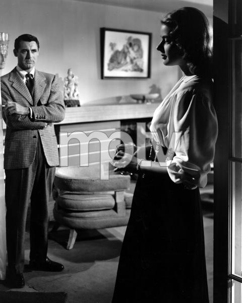 """""""Notorious""""Cary Grant, Ingrid BergmanRKO 1946**I.V. - Image 1398_0076"""