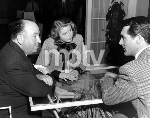 """Notorious""Dir. Alfred Hitchcock, Ingrid Bergman, Cary Grant1946 RKO**I.V. - Image 1398_0080"