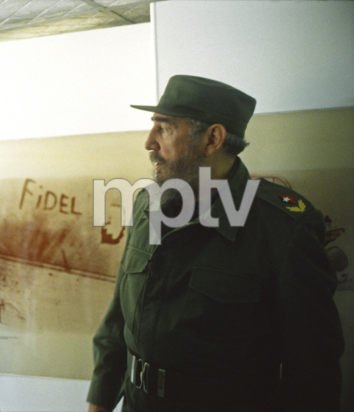 Fidel Castro in Cuba at Museo Giron (The Bay of Pigs Museum at Giron)1996© 1996 Patrick D. Pagnano - Image 14001_0015