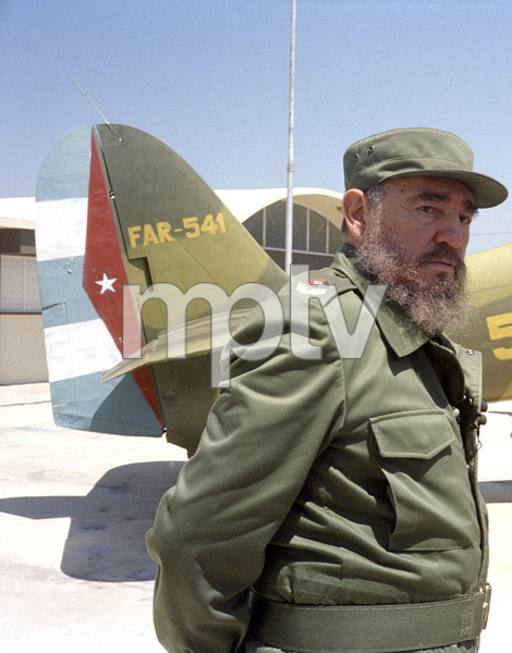 Fidel Castro in Cuba at Museo Giron (The Bay of Pigs Museum at Giron)1996© 1996 Patrick D. Pagnano - Image 14001_0016