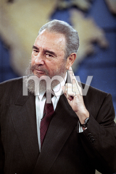 Fidel Castro speaking at the U.N.1995© 1995 Patrick D. Pagnano - Image 14001_0040