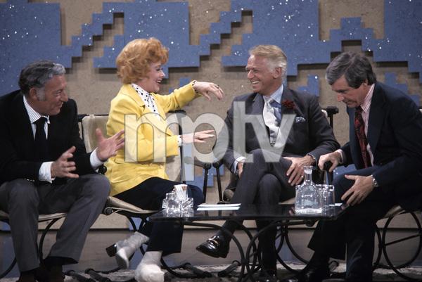 """""""The Merv Griffin Show""""Gary Morton, Lucille Ball, Douglas Fairbanks Jr., Merv Griffin1972 © 1978 Gene Trindl - Image 14113_0001"""