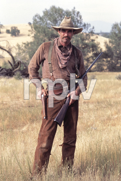 """The Shadow Riders""Tom Selleck1982© 1982 Gene Trindl - Image 14163_0004"