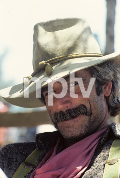 """The Shadow Riders""Sam Elliott1982© 1982 Gene Trindl - Image 14163_0007"