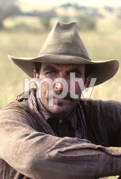 """The Shadow Riders""Tom Selleck1982© 1982 Gene Trindl - Image 14163_0010"
