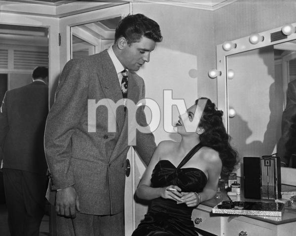 """""""The Killers""""Burt Lancaster, Ava Gardner1946 Universal Pictures** I.V. - Image 1430_0032"""