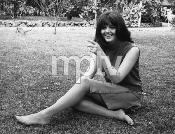 """Tina Aumont (daughter of Jean-Pierre Aumont and Maria Montez) during the filming of """"The Man Who Knew Too Much"""" on location in Rome, ItalyMay 1967 - Image 14333_0001"""