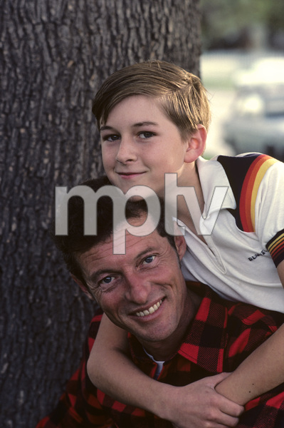 Ken Osmond and his son1983 © 1983 Gene Trindl - Image 14423_0003