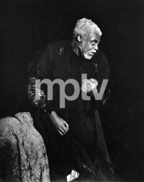 """King Lear"" (Theater Production)James Earl Jones1973 © 1978 George E. Joseph - Image 14508_0001"