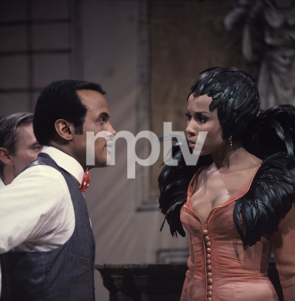 """""""One Hundred Years of Laughter"""" (ABC Stage 67) Harry Belafonte, Diahann Carroll April 6, 1967 © 1978 George E. Joseph - Image 14599_0010"""