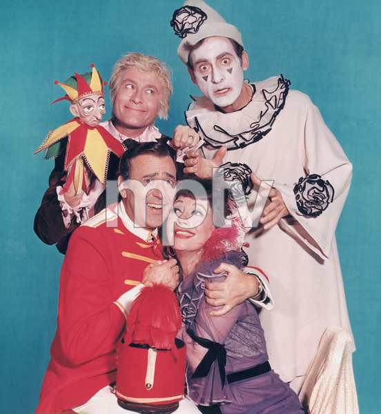 """The Sid Caesar, Imogene Coca, Carl Reiner, Howard Morris Special,"" Howard Morris, Sid Caesar, Carl Reiner, and Imogene Coca.  1967/ CBS - Image 1480_0001"