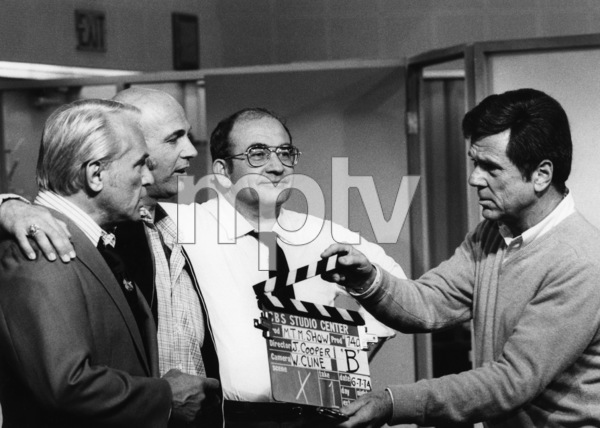 """The Mary Tyler Moore Show""Ted Knight, Gavin MacLeod, Edward Asner, Jackie Cooper1974 - Image 1491_0062"