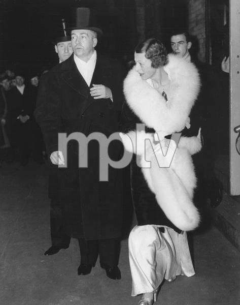 Cornelius Vanderbilt Jr., Grace Vanderbilt, William H. Vanderbilt attending the 51st opening of the Metropolitan Opera in New YorkDecember 16, 1935 - Image 14951_0002